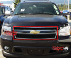 For 2007-2014 Chevy Tahoesuburbanavalanche Black Mesh Grille Grill Insert