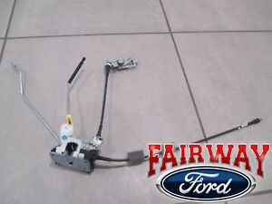 92 thru 19 Econoline E150 E250 E350 OEM Ford Back Rear RH Door Latch w Cable/Rod