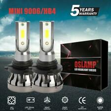 Pair 9006 HB4 72W 8000LM LED Headlight Bulbs Kit High Low Beam 6500K White