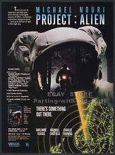 PROJECT ALIEN__Orig. 1990 Trade AD movie promo__MICHAEL NOURI__DARLANNE FLUEGEL
