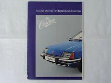Vauxhall Carlton brochure 1978/1979