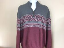 NWT Men's G.H. Bass & Co. Sweater Size 2XL Originally $80.00