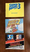 Nintendo NES: Super Mario Bros Instruction Book Manuals ONLY
