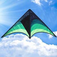 Großer Delta-Drachen für Kinder Erwachsene Einleiner Einfach zu fliegender Drach