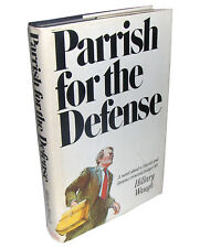 PARRISH FOR THE DEFENSE by Hillary Waugh 1974 1st Edition Hardcover