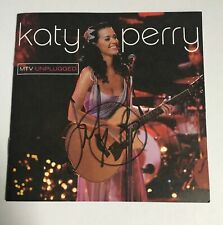 Katy Perry Signed Autographed MTV Unplugged CD DVD