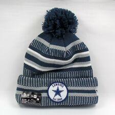New Era Cap Men's NFL Dallas Cowboys On Field Sport Winter Knit Bobble Hat