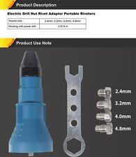 Electric Rivet Nut Gun riveting tool cordless riveting Drill Adaptor