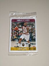 2017-18 Hoops Cleveland Cavs Promo Giveaway Card Team Set Panini LeBron James SG