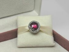 Genuine Sterling Silver PANDORA RADIANT RED SNOWFLAKE Charm S925 ALE 797555NCC