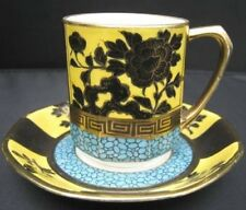 "Nippon Cup and Saucer with Blue Marble and Gold ""M in Wreath"" #47"