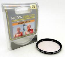Hoya HMC Multicoated 55mm Skylight (1B) Filter in Case #4469