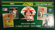 1991 Score Baseball Sealed Set 900 Cards Free Shipping! Chipper Jones RC!!!