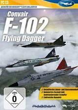 CONVAIR F-102 DELTA DAGGER ADDON für Microsoft Flight Simulator X 2004 Neuwertig