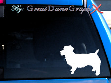 Glen (of Imaal Terrier) -Vinyl Decal Sticker -Color Choice -High Quality