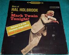 HAL HOLBROOK, More Holbrook in Mark Twain Tonight, Volume II, LP, OS 2030