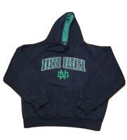 University Of North Dakota Fighting Sioux Hoodie Sweatshirt Size XL Black