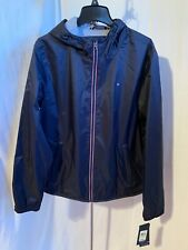Tommy Hilfiger Mens Medium Large Navy Breathable Water...
