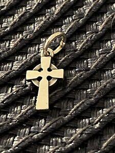 James Avery Retired Celtic Cross Pendant