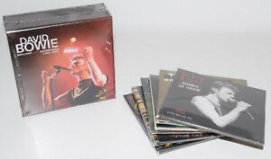 DAVID BOWIE BRILLIANT LIVE ADVENTURES CD Box Set & 7 CD - Complete - Sealed