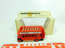 BT434-0,5# Matchbox 1:72 Y-23 Bus/Omnibus 1922 A.E.C. S Type, sehr gut+OVP
