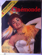 CINEMONDE du 24/11/1955; Gina Lollobrigida/ Arletty/ I. Bergman/ Dany Robin