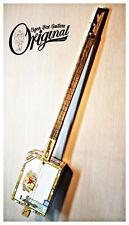 Original Romeo y Julieta 3TP Cigar Box Guitar vintage. Matteacci