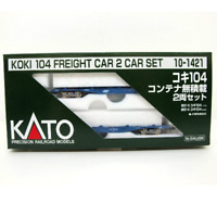 Kato 10-1421 KOKI 104 Freight Car 2 Cars Set - N