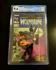 Marvel Comics Presents #1 CGC 9.6 White Pages Classic Wolverine Cover