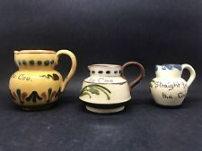 More details for 3 aller vale pottery memo jugs (or281)
