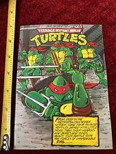 Teenage Mutant Ninja Turtles TMNT Street Collectors Edition #1 Mini Comic VF-NM