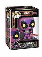 Funko POP! Marvel: X-Men Classic Deadpool (Blacklight) Target Exclusive Preorder