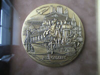 "New Orleans Bronze Medallion Medallic Art Co 3"" Rare160-55F"