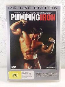 Pumping Iron DVD Arnold Schwarzenegger BODYBUILDING 1977 DOCUMENTARY - REGION 4
