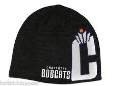 Charlotte Bobcats Reebok Reversible Striped NBA Basketball Knit Hat