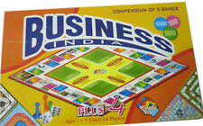 Business + 4 Games Educational Board Game for family Picnic party Kids