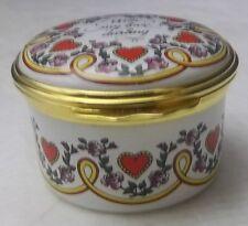 Halcyon days Enamels St. Valentines Day 1994 Box New