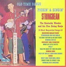 """STRINGBEAN, CD """"OLD TIME BANJO PICKIN' AND SINGIN' """" NEW SEALED, #0872"""