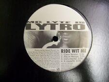 "Mc Lyte Lytro-Ride Wit Me/God Said Lyte-12""-BMG-01099"