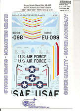 Superscale Decal 48-963 N.A. F-86F Sabre