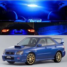 For 04-05 Subaru Impreza AWD STI WRX LED Xenon Blue Light Bulb Interior Kit
