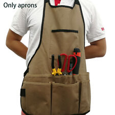 New listing Electrician Adjustable Strap Work Apron Multiple Pockets Tool Storage Waterproof