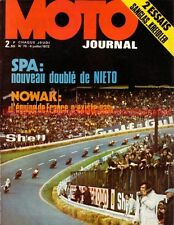 MOTO JOURNAL   76 KREIDLER 50 RS ; SANGLAS 400 NONARK ; GP de SPA 1972  NOWAK