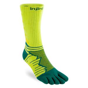 Injinji Ultra Run Crew Running Toe Socks (Deco)