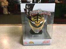 2018 Bandai Power Rangers Legacy WHITE Ranger Helmet Legacy NIB