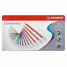 Stabilo Carb-Othello Pastel Pencil Sets set of 12