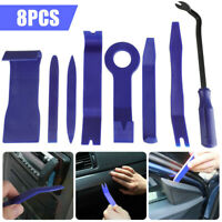 Willkey 7pcs Car Radio Door Body Clip Panel Trim Dash Audio Removal Pry Tool Kit