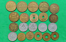 New ListingLot of 20 Mixed Old Lebanon Coins You Date Middle East !