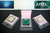 CPU Clam Shell Blister Pack for Intel-AMD Processors with ESD Foam - Qty 75 New