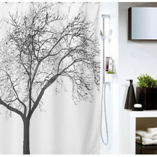 "Tree Design Shower Curtain with 12 Hooks 72"" x 72"" 100% Polyester"